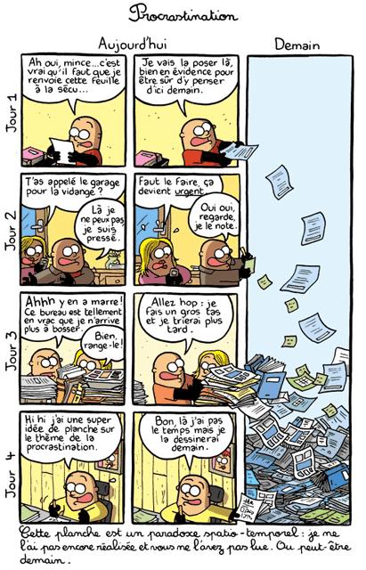 BD procrastination