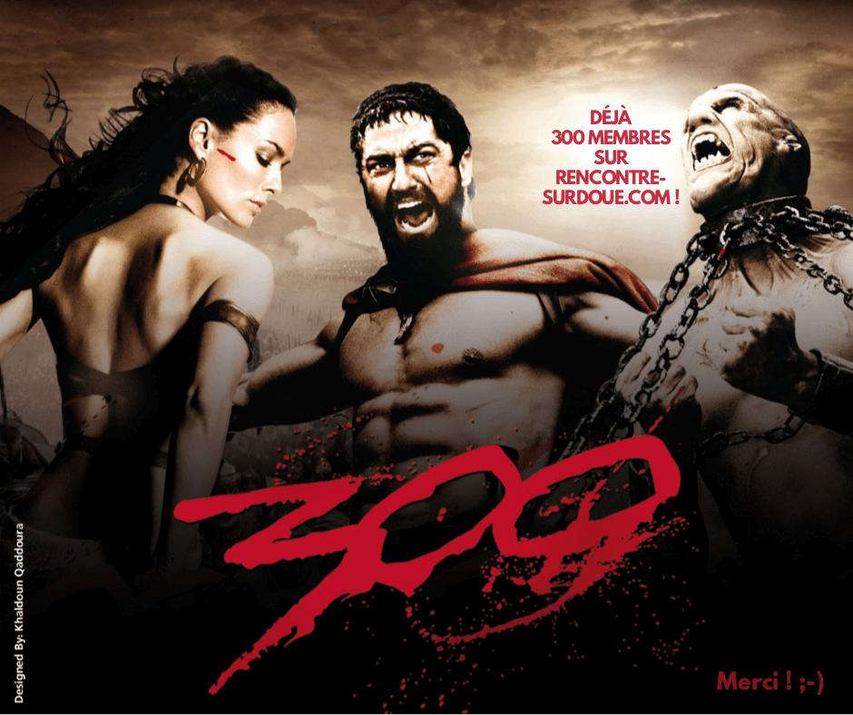 300 membres Rencontre Surdoué