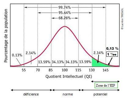 Haut Potentiel QI (Gauss)
